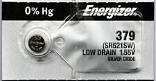 25 379 Energizer Watch Batteries SR521SW Battery Cell