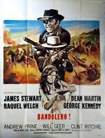 Plakat Kino Western Bandolero! James Stewart Raquel Welch - 120 X 160 CM
