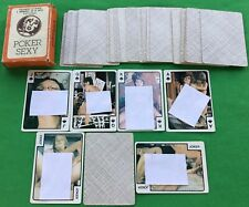 Old Vintage Spanish * POKER SEXY * Wide Playing Cards Risque Erotic Adult Nudes