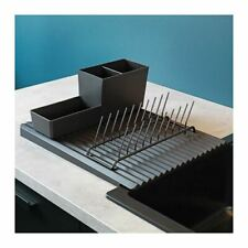 IKEA Plastic Dish Rack Drainer Sink Cutlery Drying Holder Dryer Tray Kitchen