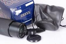 Contax 80-200mm 4.0 Objektiv Vario-Sonnar  T* Carl Zeiss MM Germ. 7966190 RX AX