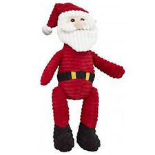 """SPOT ETHICAL HOLIDAY CORDUROY SANTA 23"""" 2 SQUEAKERS DOG TOY IN USA"""