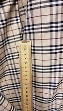 Burberry fabric material genuine cotton NOVA CHECK Fabric 150 cm wide