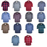 NWT Hollister by Abercrombie & Fitch Mens Shirts Plaid Flannel Poplin Oxford