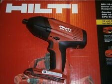 """HILTI SIW 18T-A  1/2"""" 21.6v 18v  IMPACT WRENCH TOOL ONLY Brand New"""