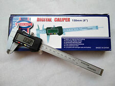"Vernier Caliper Digital 150 mm / 6"" LCD Display Electronic with Battery"