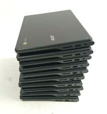 Lot Of 10 - Acer Chromebook 11.6 3 - C740 11.6 inch No Hdd For Parts Shell Only