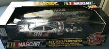 Jeff Burton EXIDE #99 Nascar Transporter 1:64 & Stock Car 1:24 Racing Champs