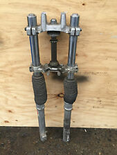 YAMAHA DT230  - FRONT FORKS WITH UPPER AND LOWER YOKE'S