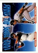 A6983- 1993 Topps Baseball Cards 401-650 +Rookies -You Pick- 10+ FREE US SHIP