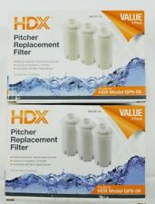 Brita Water Pitcher Replacement Filters by Home Depot 4 Stage HDX 6 Pack