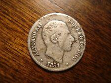1881 Philippines 10 Centimos