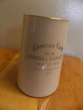 LENOX TANKARD COMITAS CLUB 14TH ANNUAL BANQUET FEB 14, 1925 HILLWOOD INN GRN STP