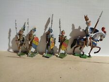 vintage Heyde, Medieval Mounted and Foot Knights lead toy soldiers , JL