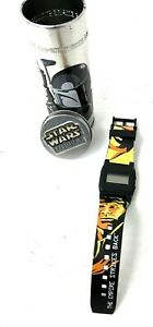 "Star Wars The Empire Strikes Back Burger King Watch 2005 ""HAN SOLO BOBA FETT"""