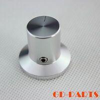 30*26mm Machined Aluminum Volume Knob With Set Screw 6mm Hole For Hifi Audio 1PC