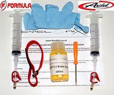 Brake Bleeding Kit For ALL Avid & Formula MTB brakes With 100ml  DOT 5.1 Fluid
