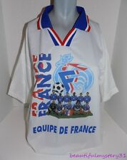 FEDERATION FRANCAISE DE FOOTBALL EQUIPE DE FRANCE TEAM FUTBOL SOCCER JERSEY -M-