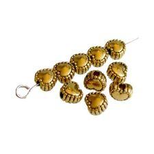 250 Perles intercalaire spacer _ COEUR DORÉ 5x5,5x3,5mm _ Apprêts bijoux _A019 g