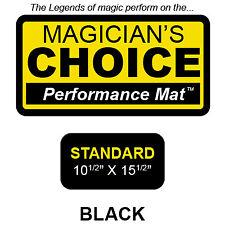 Ronjo Magic, Inc. Standard Close-Up Mat BLACK - 10.5x15.5 by Ronjo magic trick