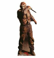 JASON VOORHEES FRIDAY THE 13TH OUTDOOR HALLOWEEN LIFESIZE STANDUP STANDEE CUTOUT