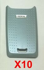 Lot Of 10 Oem Nokia 3120/3100 Silver Battery Back Door Cover Good Used