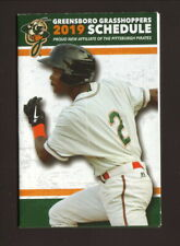 Greensboro Grasshoppers--2019 Pocket Schedule--Goodwill Industries--Pirates