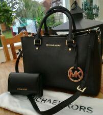 Genuine Michael Kors MK Sutton Leather Handbag & Purse
