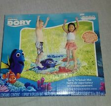 "Disney Finding Dory Spray 'n Splash mat 35"" Sprinkler Summer water Toy Fun"