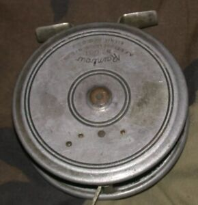 Vintage A.F. Meisselbach Rainbow No. 631 Fly Reel made in Ohio, USA!