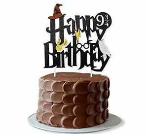 Harry Potter Cake Topper Harry Potter Birthday Party Cake Decoration AU Stock
