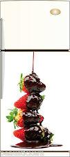 Sticker frigo électroménager déco cuisine Coulis 60x90cm Réf 063