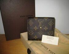 Portefeuille Louis Vuitton Elise monogram wallet