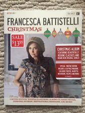 Francesca Battistelli Christmas CD 2012 Sealed Zinepack Edition