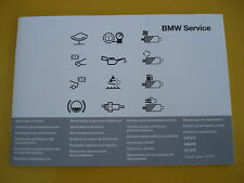BMW Service Book All BMW 1 2 3 4 5 6 7 SERIES M3 M5 X1 X3 X5 X6 Z3 Z4////