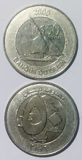 Lebanon 50 Pounds ( 50 Livres )  2006 sailing boat 22mm steel coin km37a UNC