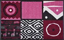 Ab Lager ! Fußmatte wash+dry Afrikana pink 50x75cm  Fußabstreifer Kleen-Tex