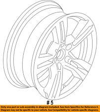 BMW OEM 13-15 X1-Wheel-Alloy Aluminum 36117842637