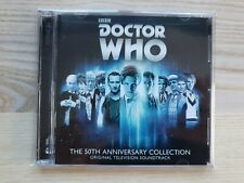 Doctor Who The 50th Anniversary Collection Original Television Soundtrack CD