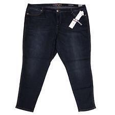 Seven7 Womens Denim Leggings 28 Plus Classic Jeans Melissa McCarthy Stretch New
