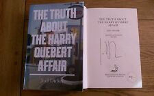The Truth about The Harry Quebert Affair SIGNED LIMITED EDITION Joel Dicker