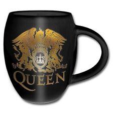 Queen Gold Crest Sculptured Ceramic Mug NEW OFFICIAL