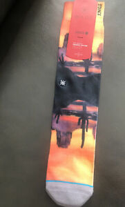 """New with Tags Stance Socks """"Texas"""" Classic Cotton (L 9-13) Dwyane Wade"""
