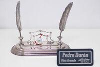 ARTICULO NUEVO Y ORIGINAL juego escritorio PEDRO DURAN de autentica plata 925 ml