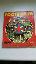 FOOTBALL 78 ALBUM BY PANINI 100% COMPLETE