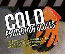 PIP Brahma 6 Pair (Small)HeavyDuty Safety MicroGrip Winter Insulated Work Gloves