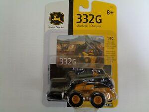 NEW John Deere 332G Skid Steer Loader, 1/50 Scale, Ages 8+ LP67320