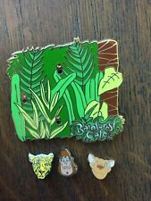 Rainforest Cafe Base & 3 Build A Pin Add On's