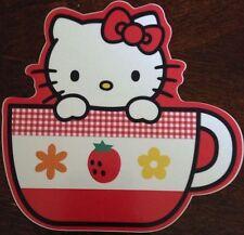 """Hello Kitty Sticker 4 1/4""""x4.5"""""""