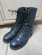 U.S. MILITARY JUMP/FLIGHT DECK BOOTS SIZE 4.5 W STEEL TOE VG TO EXCLNT CONDITION